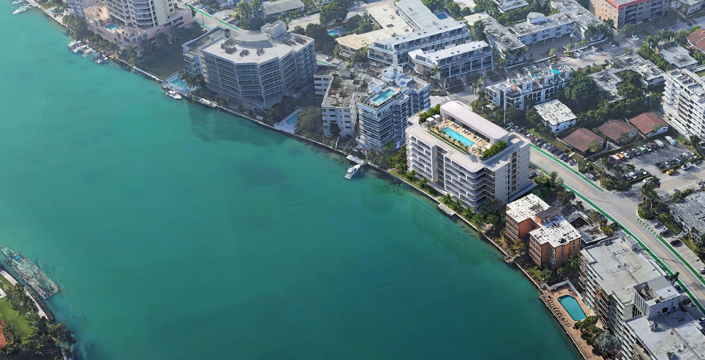 The Broadwater Aerial View